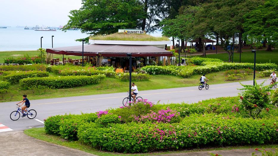 Singapore có rất nhiều công viên xanh-sạch-đẹp.