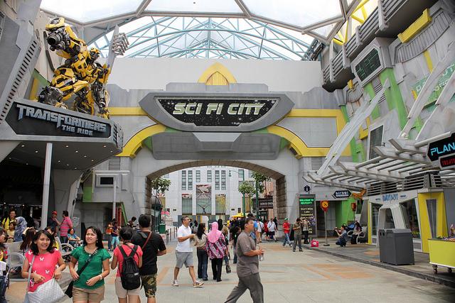 Khu Sci-Fi City