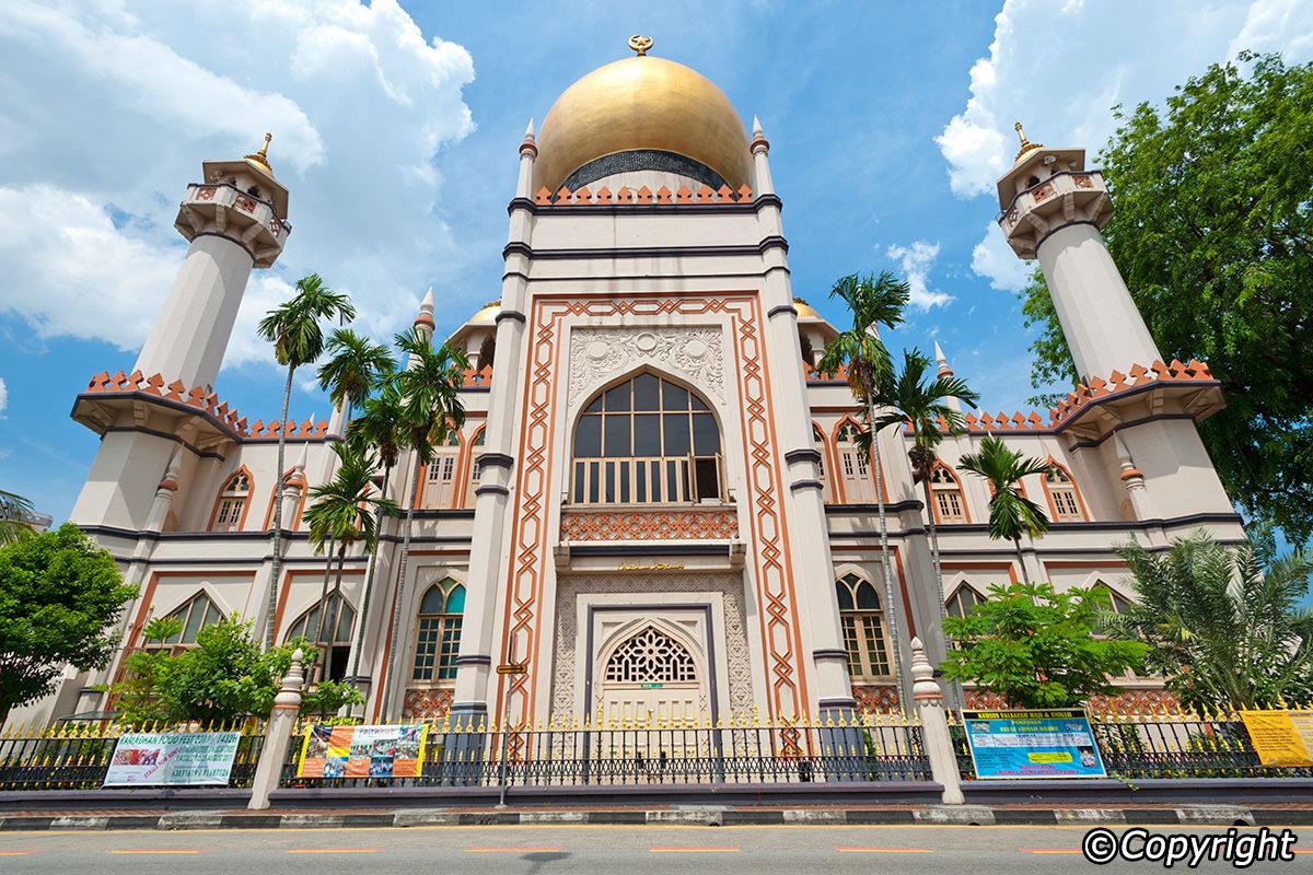 thờ Hồi giáo Sultan