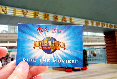 Mua vé Universal Singapore ở đâu?